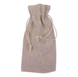 linen drawstring bag for small items