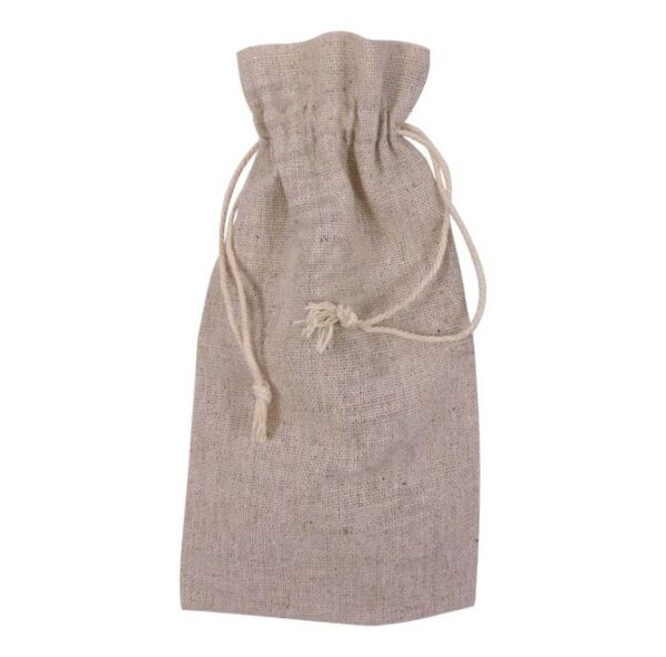 linen drawstring bag for small items