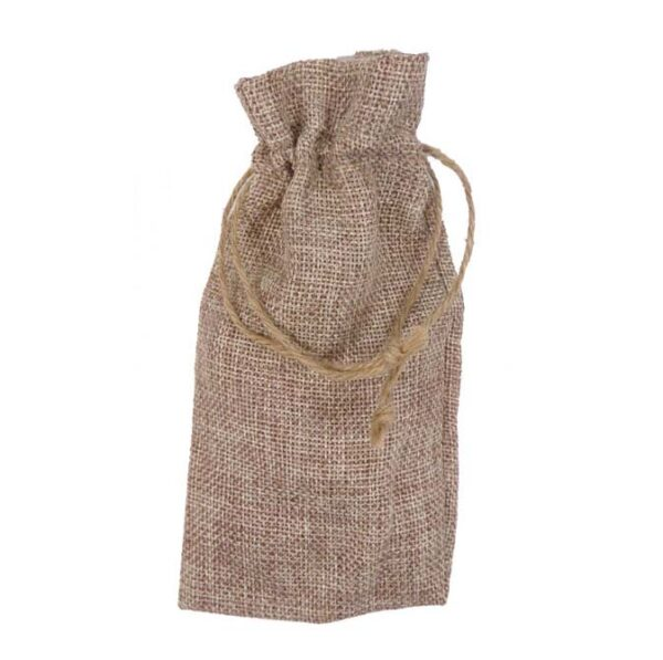 burlap bag for small items