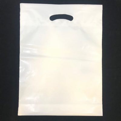 Heavy basis weight poly bags