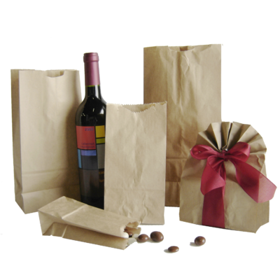 Bags - Paper Grocery & Hardware Bags