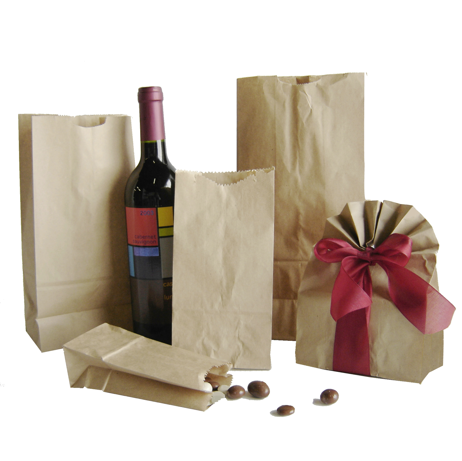 Paper Grocery & Hardware Bags