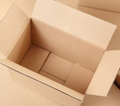 Kraft or White Corrugated Shipping Boxes