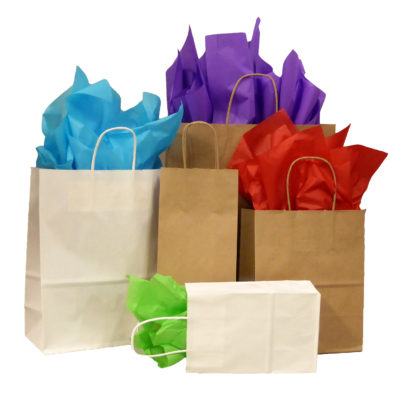 Bags - Paper Shopping Bags with handles