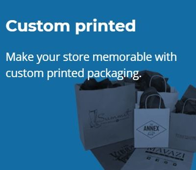 *Custom Printed Packaging