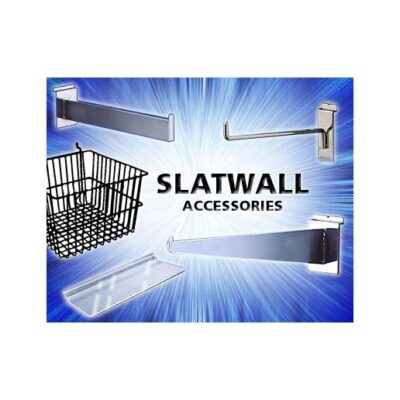 Fixtures - Slatwall Hooks, Brackets & Pegboard hooks