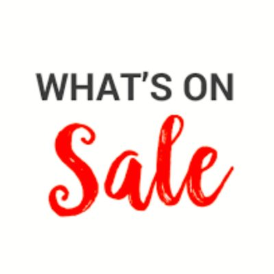 **Sale/Clearance Items