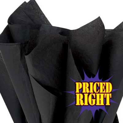 Black priced right reams of tissue paper