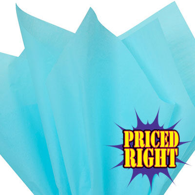 Tiffany blue priced right reams of tissue paper