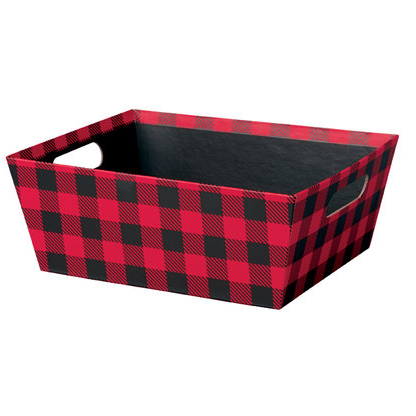 rigid gift basket
