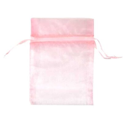 pink organza bags for small items
