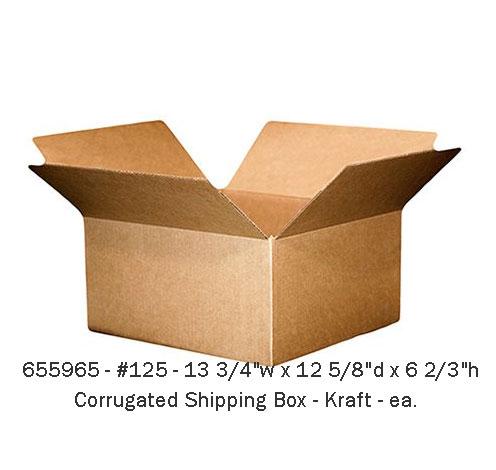 Kraft shipping box