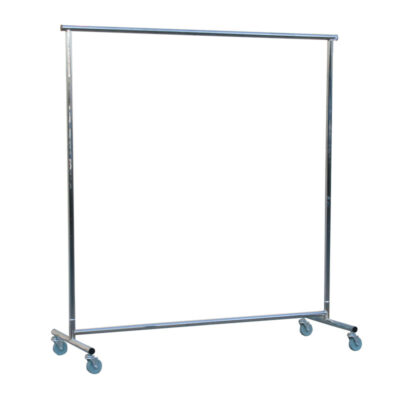 knock down 5 foot rolling rack