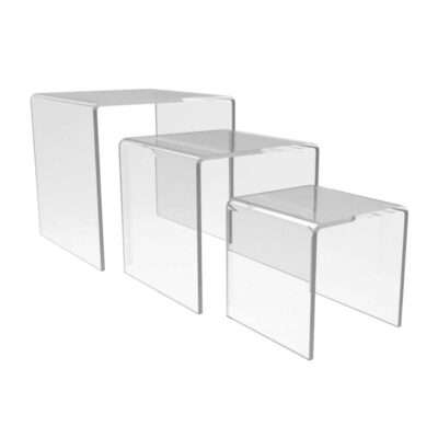 Acrylic Risers & Cubes for retail display